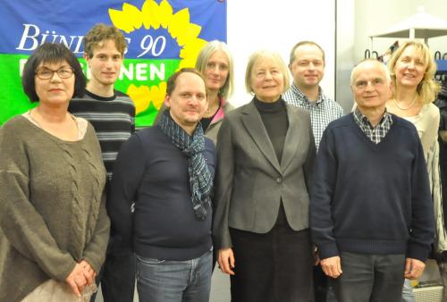 Die Spitzenkandidaten für den Gemeinderat.